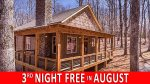 AMONG THE STARS- Beautiful, Newly Built, Modern Meets Rustic Woodlands Cabin for Four --NO PETS