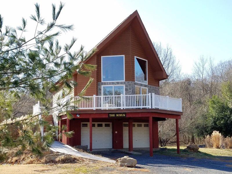 The Shuck   Christophers Riverside Cabin