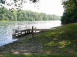 Riverfront area, easy access w/ boat dock for boating or fishing