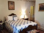 Master Bdrm. Queen bed and private bath