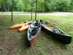 Canoe and Kayak for use