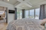 Great Gulf Views from the Master Bedroom