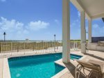 The Pearl. Gulf Front, Custom Designed Beach House with Private Pool and Top of the Line Everything