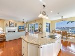Light and bright open concept with stunning bay view