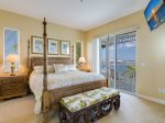 Spacious King master suite with terrace