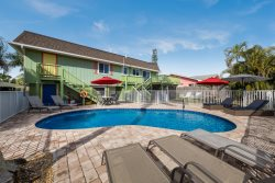Tropical Oasis 126 is a 2 BR jewel with heated pool and dock is waiting for your arrival