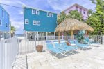 STEPS TO THE BEACH from this SPACIOUS BEACHSIDE Home with Private Hot Tub and Shared Pool!!!! One House back from the Beach with Gulf Views.