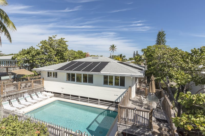 Very Private Large Beachfront Fort Myers Beach Getaway With Heated Pool Handicap Accessible
