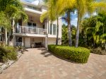 Upscale, newer built  Island Retreat surrounded by lush tropical gardens with Private Heated Pool