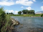 Clark`s Fork of the Yellowstone River