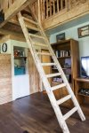 Access ladder to the loft bedroom