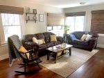 Comfortable living area seating