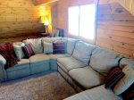 Family room sectional seating