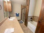 Master Bath Dual Sink Shower and Tub